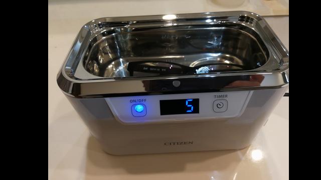 超音波洗浄器 シチズン SWT710☆安価で高性能、動画で確認して下さい