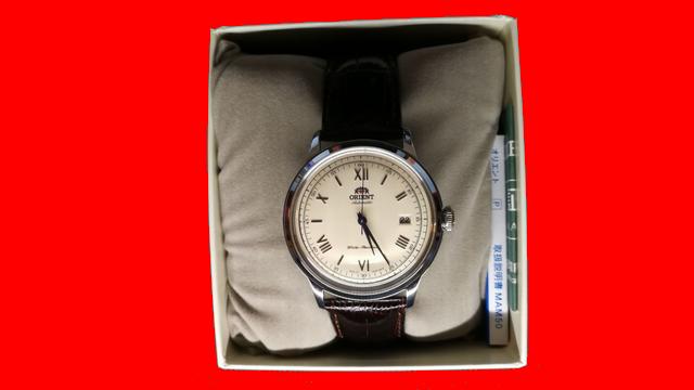 オリエント バンビーノ(SAC00009N0)☆古い時計好きの僕にも満足の一品でした