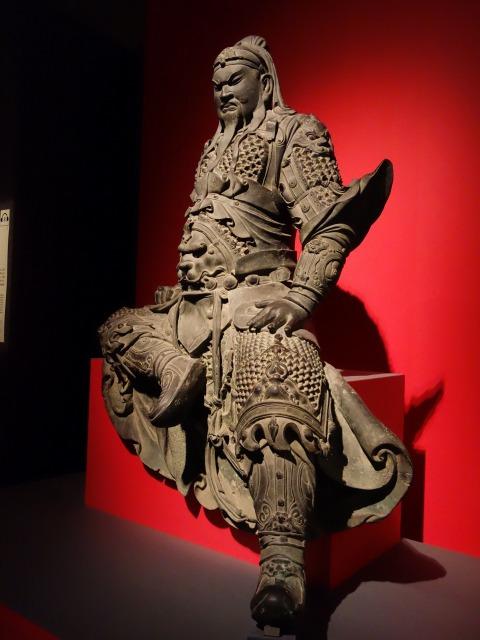 三国志展 関羽像