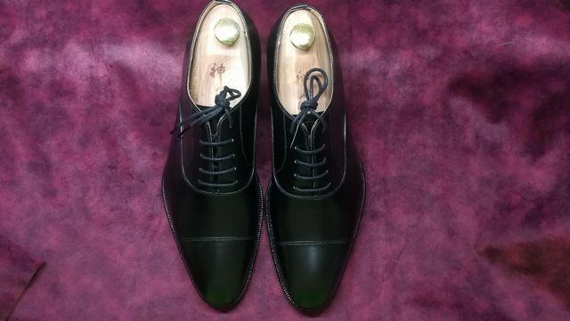革靴プレメンテ★簡単な手順で革靴が長持ちします