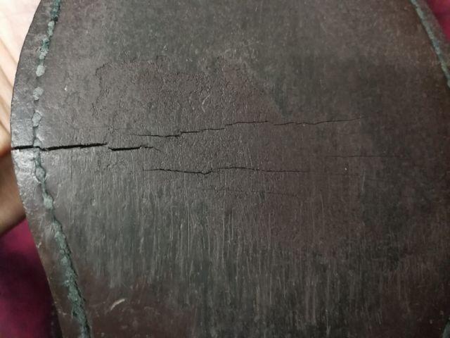 リーガルソール割れ修理